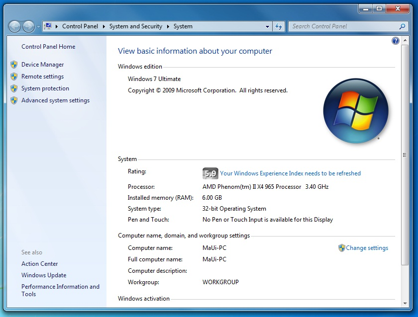 windows 7 32bit hope i can help you all with this my windows 7 32 bit